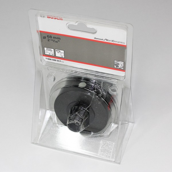 Bosch Diamantlochsägen Diamond for Hard Ceramics 68mm - 2608580317