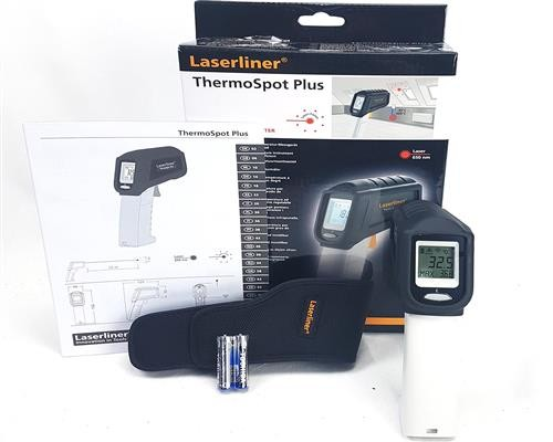 Laserliner ThermoSpot Plus - Infrarot Temperaturmessgerät - 082.042A