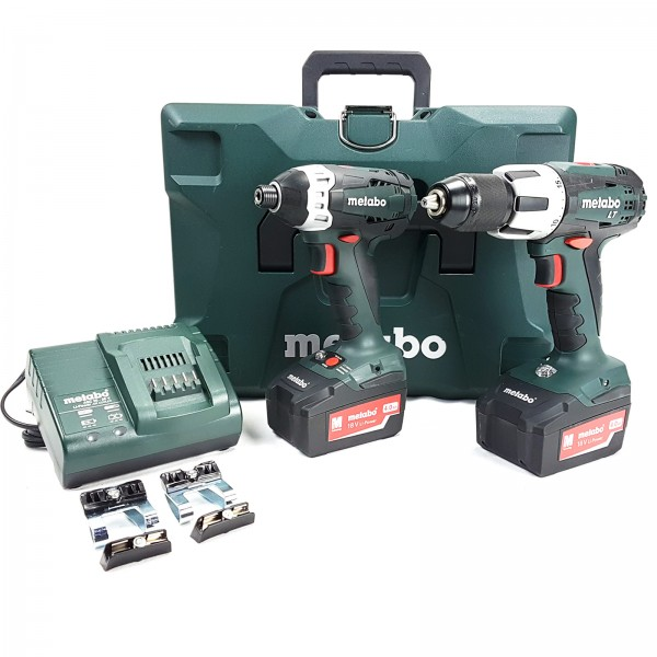 Metabo - Combo Set 2.1.3 18 V - SSD 18 LTX 200 & BS 18 LT - 6.85032.00