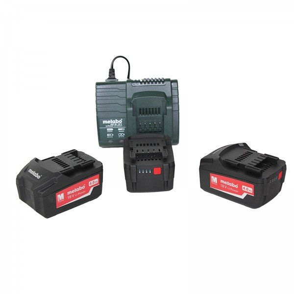 Metabo 18V 4,0Ah Basis-Set (3x 4.0Ah,ASC 30-36,MetaLoc II) - 68506300