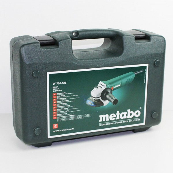 Metabo 750 Watt Winkelschleifer - W 750-125 - 601231500