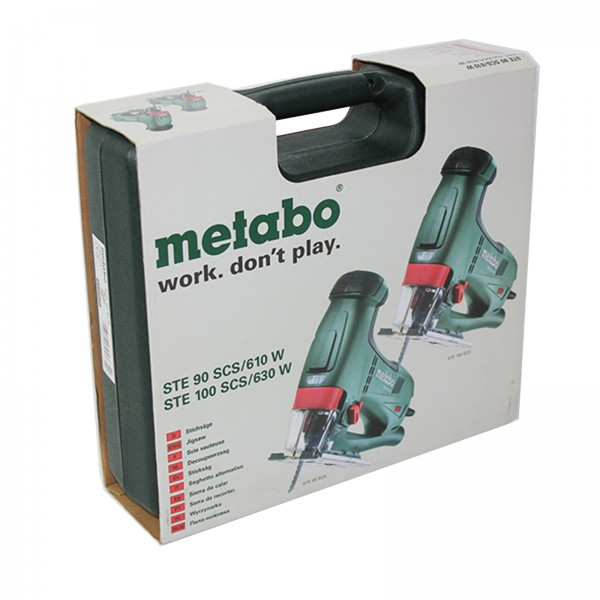 Metabo 610 Watt Stichsäge - STE 90 SCS - 60104250