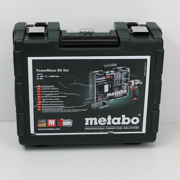 Metabo 10,8V - PowerMaxx BS Basic Set - 600079880 -%Austellungsstück%