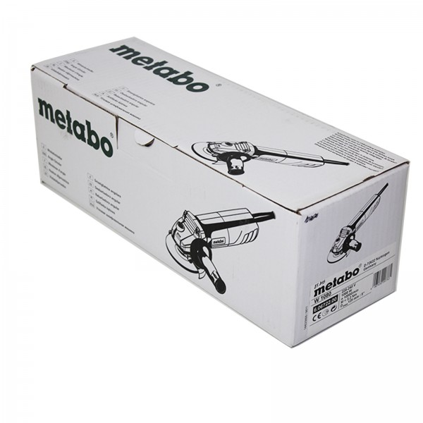 Metabo 1080W Winkelschleifer 125mm - W1080 - 60672200
